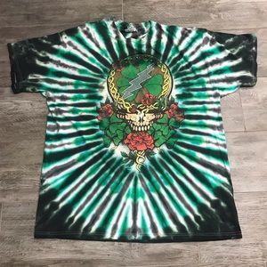 Grateful Dead tie dye